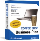 Ebook cover: Coffee Shop Business Plan