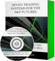 Ebook cover: Seven Trading Systems for the S&P Futures