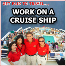 Ebook cover: How to Work on a Cruise Ship (Get Paid to Travel the World!)