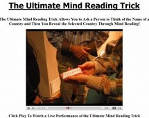 Ebook cover: The Ultimate Mind Reading Trick