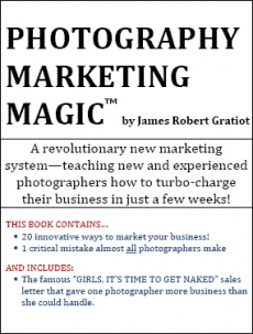 Ebook cover: Photography Marketing Magic