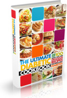 Ebook cover: The Ultimate Diabetic Cookbook