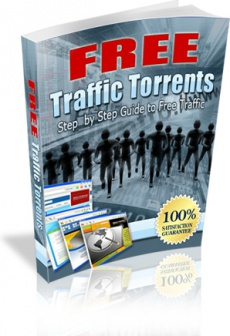Ebook cover: Free Traffic Torrents