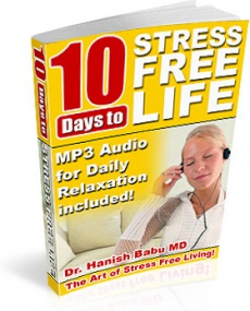 Ebook cover: 10 Days to Stress Free