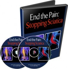 Ebook cover: End Sciatica Home Study Course
