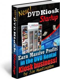Ebook cover: DVD Kiosk Startup - eBook & Business Plan
