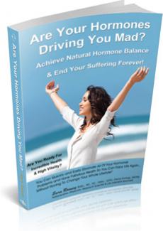 Ebook cover: Hormone Help Ebook