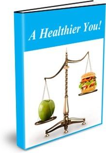 Ebook cover: A Healthier You!