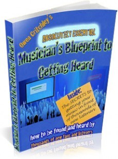 Ebook cover: 'The Blueprint to Getting Heard by Thousands'