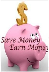 Ebook cover: Save Money & Earn Money