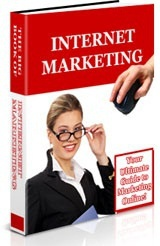 Ebook cover: The Ultimate Guide of Internet Marketing