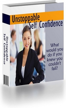 Ebook cover: Unstoppable Self Confidence
