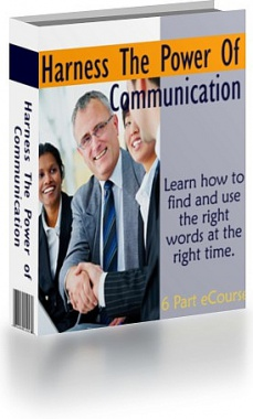 Ebook cover: Harness The Power Of Communication