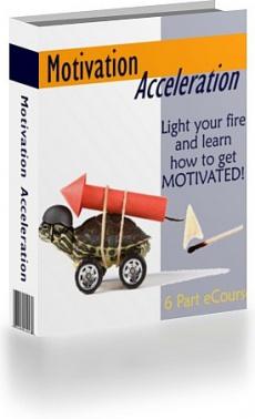 Ebook cover: Motivation Acceleration
