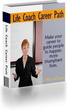 Ebook cover: Life Coach Career Path