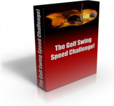 Ebook cover: The Golf Swing Speed Challenge