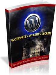 Ebook cover: Wordpress Website Secrets