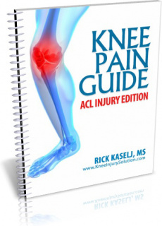 Ebook cover: Knee Injury Solution
