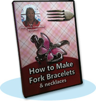 Ebook cover: How To Make Fork Bracelets and Necklaces
