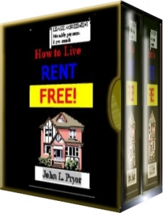Ebook cover: How to Live Rent-Free!