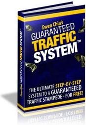 Ebook cover: GUARANTEED TRAFFIC SYSTEM