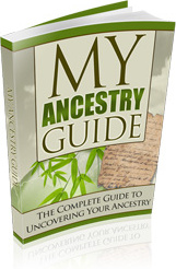 Ebook cover: My Ancestry Guide - The Complete Guide to Uncovering Your Ancestry