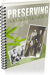 Ebook cover: Preserving Documents & Photos