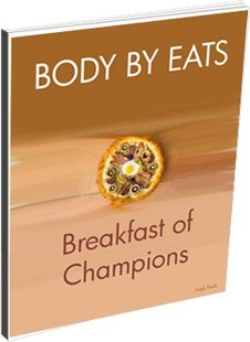 Ebook cover: Body By Eats - Breakfast Of Champions