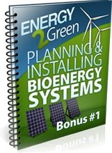 Ebook cover: Planning & Installing Bioenergy Systems