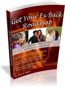 Ebook cover: Get Your Ex Back Roadmap