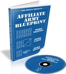 Ebook cover: Affiliate Army Blueprint