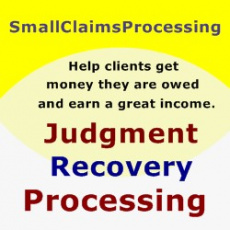Ebook cover: Judgment Recovery