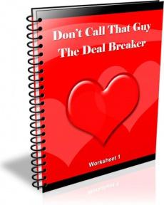 Ebook cover: The Deal Breaker