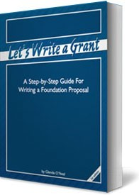 Ebook cover: Lets Write a Grant
