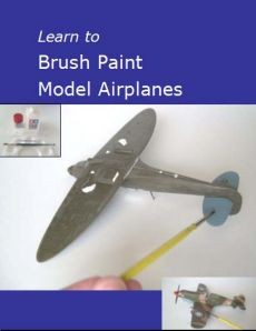 Ebook cover: Learn to Brush Paint Model Airplanes