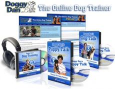 Ebook cover: Doggy Dans Online Dog Trainer