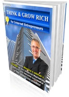 Ebook cover: Think and Grow Rich for Internet Entrepreneurs