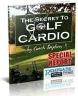Ebook cover: The Secret To Golf Cardio