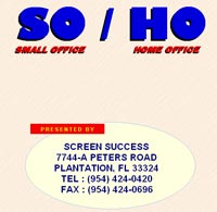 Ebook cover: SMALL OFFICE / HOME OFFICE
