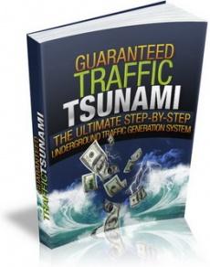 Ebook cover: Guaranteed Traffic Tsunami