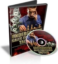 Ebook cover: Underground Sales Conversion Tactics
