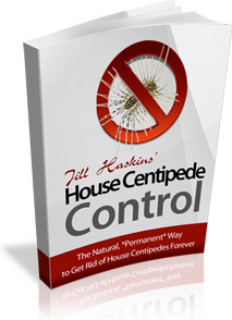 Ebook cover: House Centipede Control: The Ultimate Guide to Get Rid of Centipedes