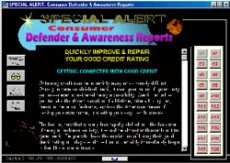 Ebook cover: Consumer Defender & Awareness Reports