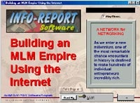 Ebook cover: Building an MLM Empire Using The Internet