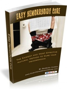 Ebook cover: Easy Hemorrhoids Cure