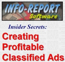 Ebook cover: Creating Profitable Classified Ads