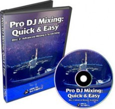 Ebook cover: Pro DJ Mixing: Quick & Easy