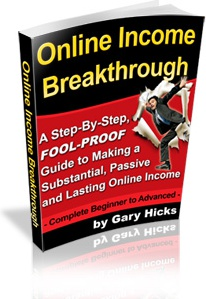 Ebook cover: Online Income Breakthrough