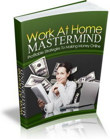Ebook cover: Work At Home Mastermind