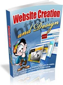 Ebook cover: Website Design, Creation and Advice
